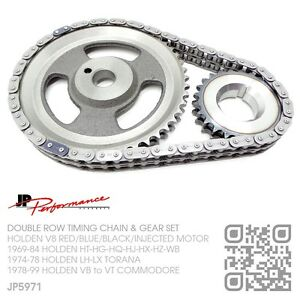 JP-TIMING-CHAIN-DOUBLE-ROW-TIMING-GEARS-253-308-V8-MOTOR-HOLDEN-HQ-HJ-HX-HZ-WB