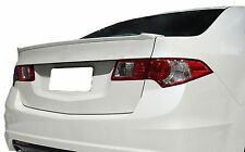 UNPAINTED REAR WING SPOILER FOR AN ACURA TSX FACTORY STYLE LIP 2009-2013