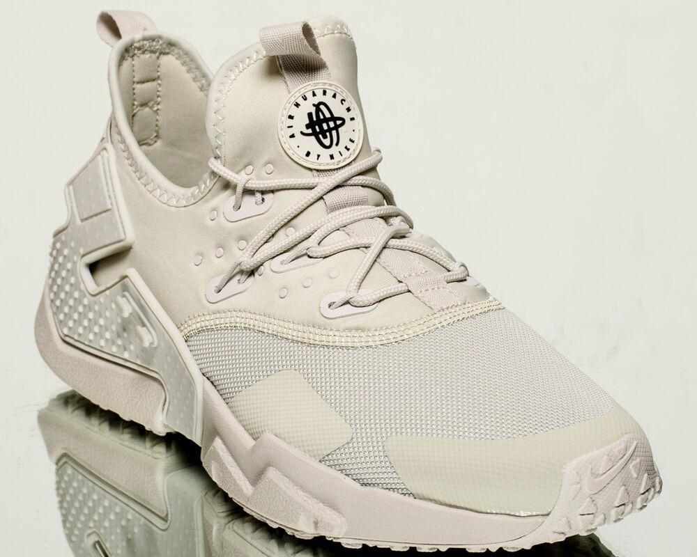 Nike Air Huarache Drifthommelifestyle sneakers NOUVEAU light bone Noir AH7334-001 Chaussures de sport pour hommes et femmes