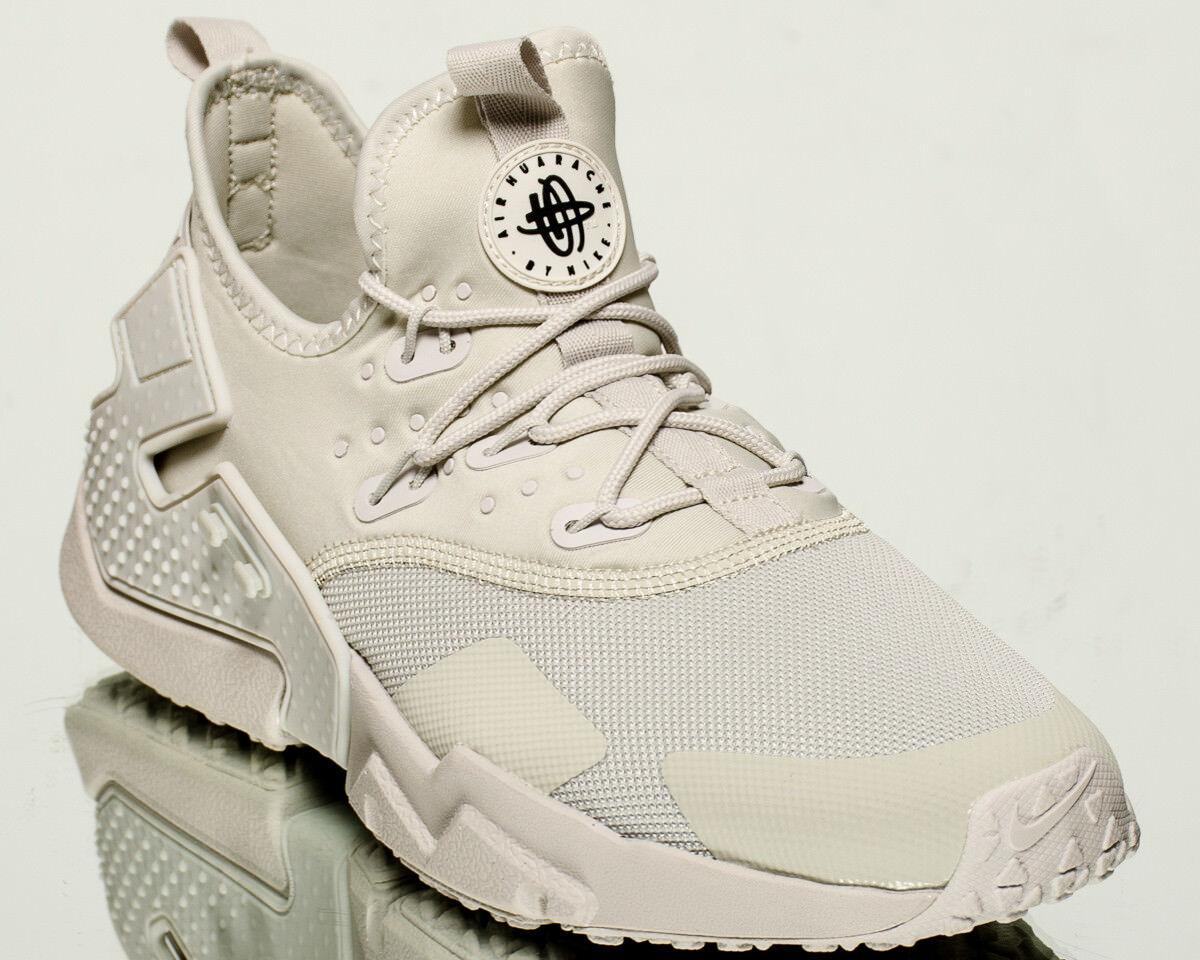 Nike Air Stile di vita degli uomini Huarache Drift Scarpe da ginnastica NUOVA LUCE Osso Nero AH7334-001