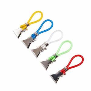 Portable Tea Towel Hanging Clips Clip on Hook Loops Hand Towel Hangers UK t