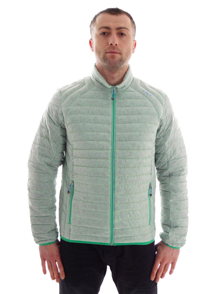 CMP Daunenjacke Outdoorjacke Steppjacke grün gefärbte Daunen Packable