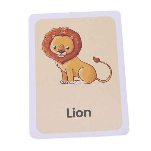 Baby Early Learning Educational Toy Shape Animal Color Cognition Card Toys
