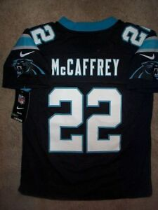 Image is loading IRREGULAR-Carolina-Panthers-CHRISTIAN-McCAFFREY-nfl-NIKE- Jersey- 7d0d857cd