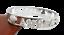 miniatuur 26 - Bracciale da donna in acciaio inox rigido a manetta con nome in zirconi bianchi