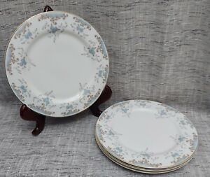 """4 Imperial China SEVILLE 5303 by W. Dalton 10 1/4""""  DINNER Plates Japan Vintage"""