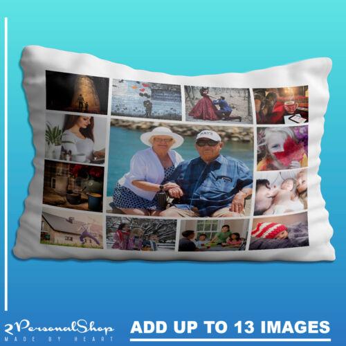 Foto Personalizado Funda de Almohada Cojín Almohada Funda Regalo Personalizado 13 Fotos
