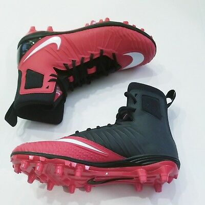 0a546525490 Nike Force Savage Varsity Football Cleats Size 10 NEW red black white