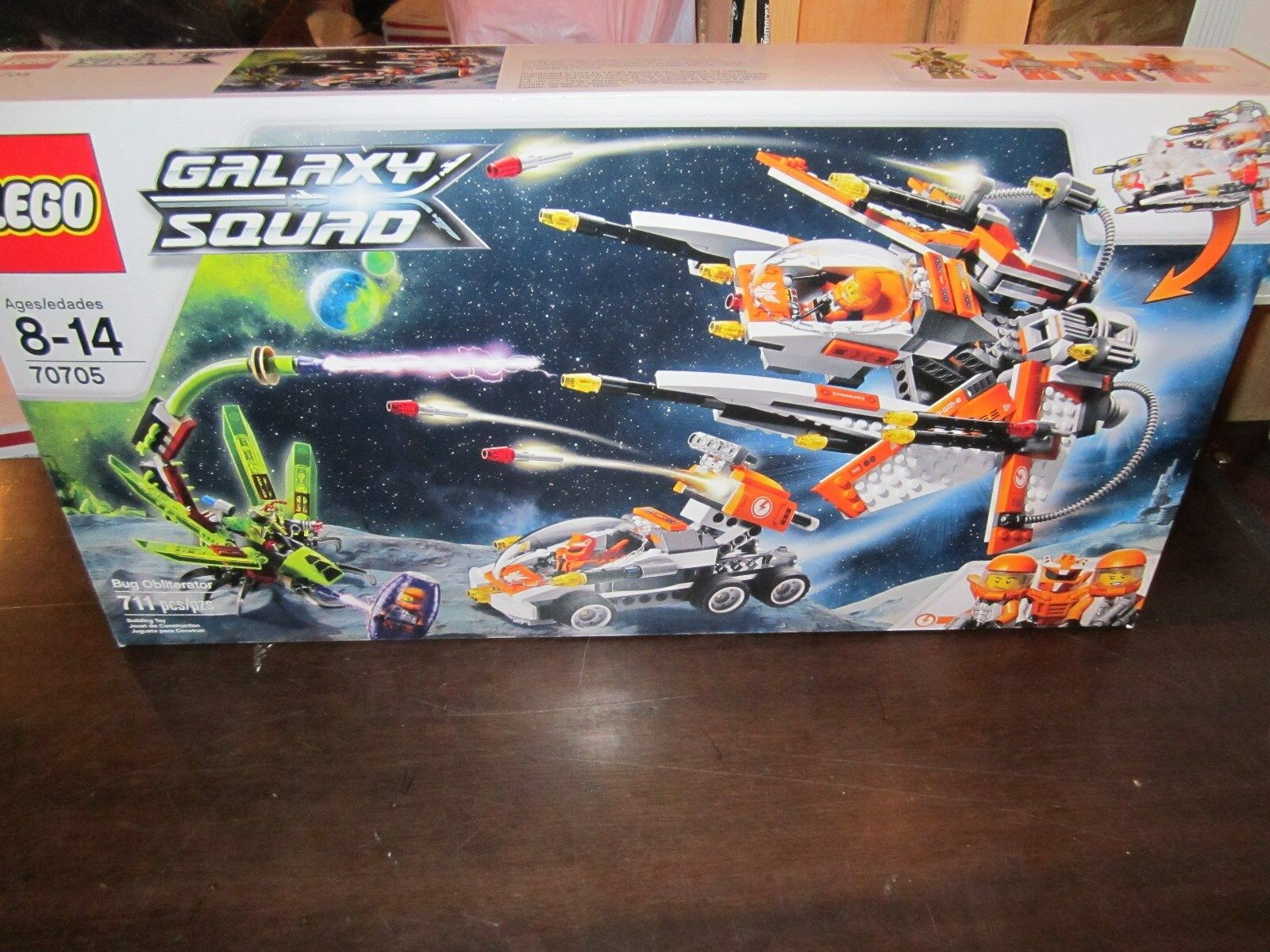 Lego Galaxy Squad 70705 Bug Obliterator 711 pcs space ship alien outer astronaut