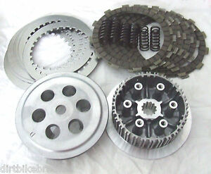 KTM-200-SX-XC-EXC-1998-2016-COMPLETE-Clutch-Hub-Pressure-Plate-amp-Clutch-Kit