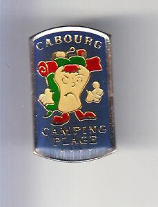 RARE-PINS-PIN-039-S-TOURISME-CAMPING-CAR-CARAVANE-CAMPEUR-CABOURG-14-BT