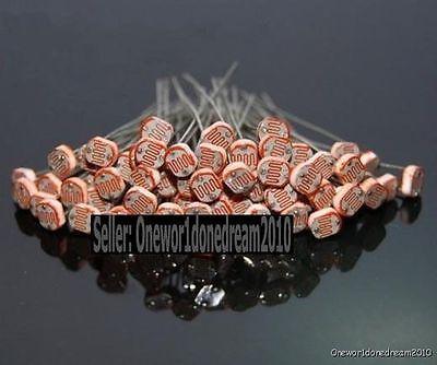 Lot of 30PCS Photoresistors GL5537 5537 LDR Photo Resistors Light-Dependent NEW