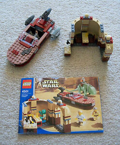 LEGO-Star-Wars-Rare-4501-Mos-Eisly-Cantina-w-instructions-No-Minifigs-Dewback