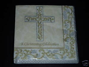 NIP-Christening-Celebration-GRACE-16pk-Luncheon-Napkins-Party-Supplies-Religious