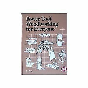 Power Tool Woodworking For Everyone 4th Edition Hardcover Shopsmith For Sale Online Ebay