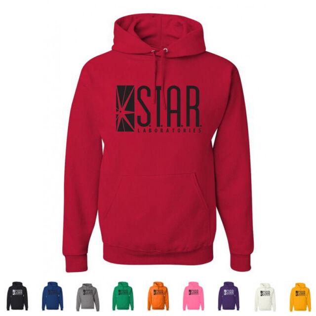 STAR Laboratories Hoody The Flash S.T.A.R Labs Mens Ladies Kids Unisex Hoody