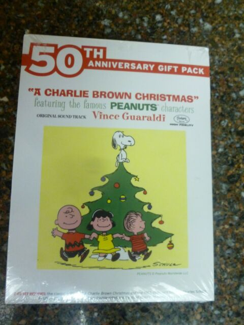 Charlie Brown Christmas (CD) 50th Anniversary 2-pack Vince Guaraldi Sealed New
