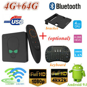 Lot Beelink GT-King Voice Control TV Box 4G+64G S922X
