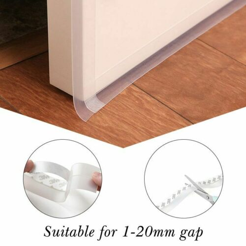 Silicon Sealing Strip Window Door Tape Multi Function Soundproofing Weatherstrip