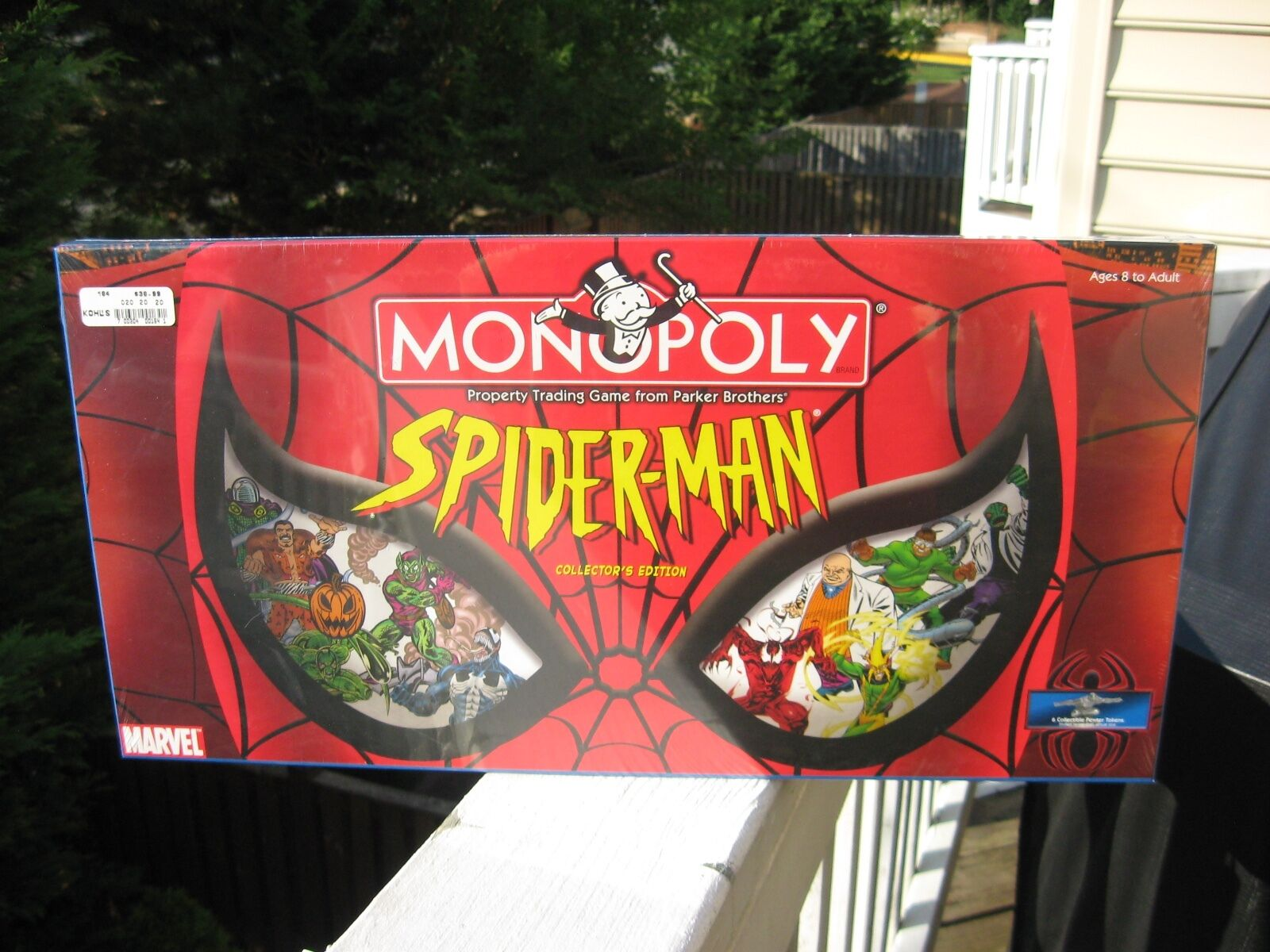 Monopoly-Spider-Man Edition  collector Marvel. nouveau. SEALED. 2002  jusqu'à 70% de réduction
