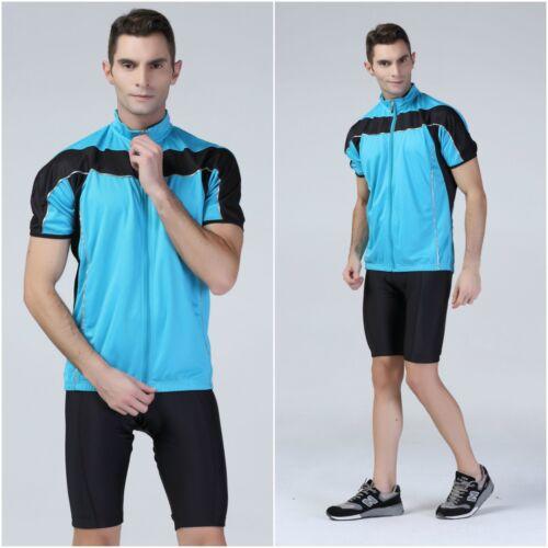 Mens Black Padded Cycling Shorts Cycle Short Biking Pants Race Skin Gel