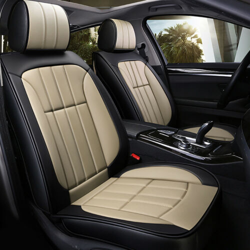 Luxury Full Surrounded Seat Covers PU Leather Car Seat Cover Cushion Protection