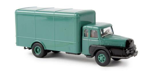 Brekina 85505-1//87 a Unic 122 maletas-verde//negro-nuevo