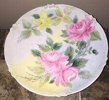 """Vintage 12"""" Artist Signed GOA France Decorative Plate"""