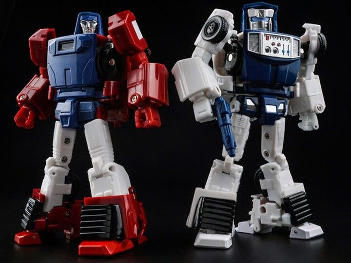 MISB X-Transbots Boost & Hatch, Transformers Masterpiece Windcharger & Tailgate
