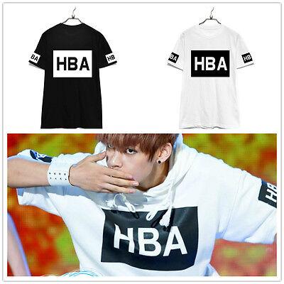 BTS Kpop T-shirt Bangtan Boys unisex tee New V JIMIN JUNGKOOK
