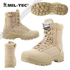 c7cf50ba7f5a7 artículo 7 Botas Militares Boots Seguridad MILTEC Thinsulate 3M De Piel  CREMALLERA KH -Botas Militares Boots Seguridad MILTEC Thinsulate 3M De Piel  ...