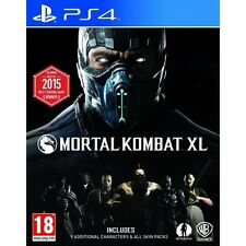 Mortal Kombat XL PS4 Game - Brand New!