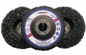 3 x Abracs Poly Discs 115mm Rust amp Paint Removal for 4 12034 Angle Grinder - <span itemprop=availableAtOrFrom>NOTTINGHAM, Nottinghamshire, United Kingdom</span> - Returns accepted Most purchases from business sellers are protected by the Consumer Contract Regulations 2013 which give you the right to cancel the purchase within 14 - NOTTINGHAM, Nottinghamshire, United Kingdom