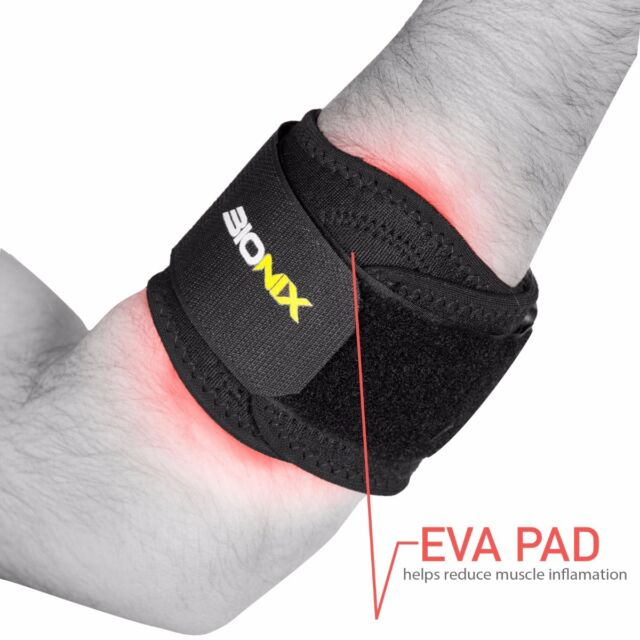 Tennis Elbow Support Golfer's Strap Epicondylitis Brace Lateral Pain Syndrome