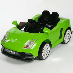 image is loading racer x green 12v kids ride on car