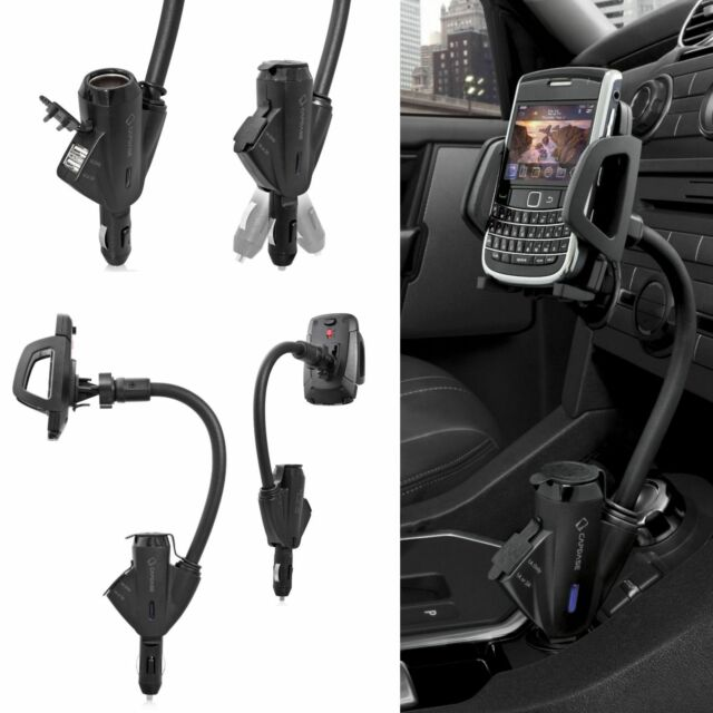 Capdase Car Lighter Cradle Mount Charger Mobile Phone Holder BlackBerry GPS EVO
