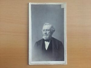 Details About RARE OHIO WHIG AND ANTI SLAVERY CDV Estate Find Abner Kellogg Carte De Visite