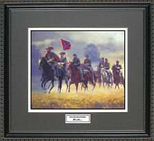 Mort Kunstler STUARTS RIDE AROUND MCCLELLAN Framed Print Civil War Wall Art Gift