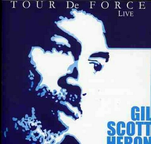GIL SCOTT-HERON - TOUR DE FORCE NEW CD