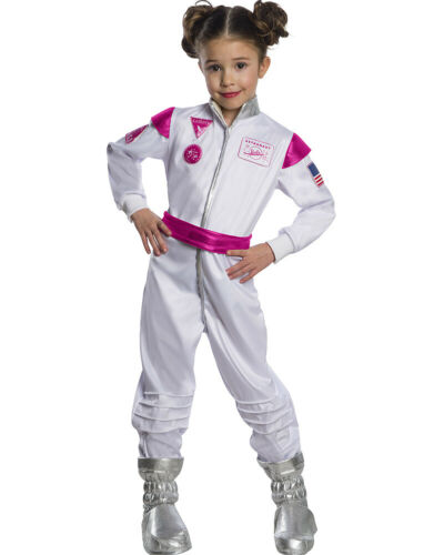Barbie Astronaut Girls Costume Size M