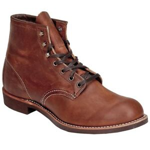 Red-Wing-3343-Blacksmith-Brown-Mens-Ankle-Boots-All-Sizes-New