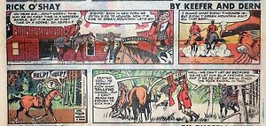 Rick-O-039-Shay-by-Mel-Keefer-full-color-Sunday-comic-page-November-4-1979