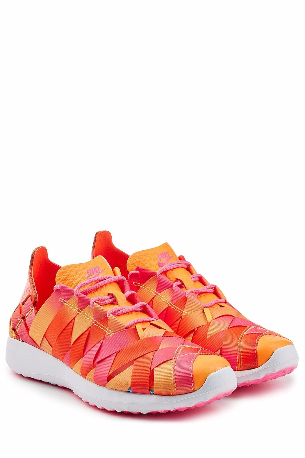 WMNS Nike Juvenate Woven PRM Casual Pink Blast/Orange-ROT Größe 4.5 UK