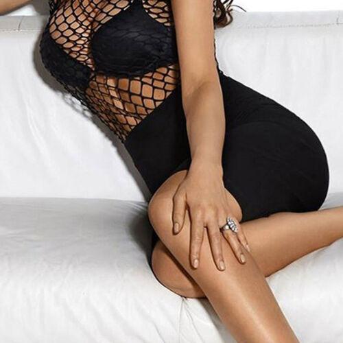 By Alina Body Netzbody Netzshirt Réseau Top chemisier corsage damenbody bodie XS-M