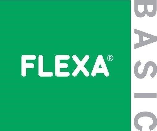Andet, b: 96 cm, Flexa Basic Hit udtræksskrivebord til