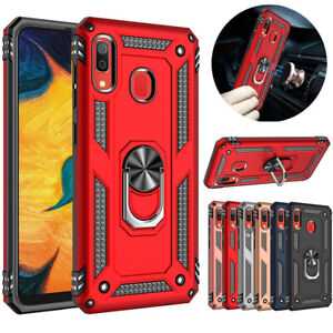 For-Samsung-Galaxy-A10e-A20-A50-A20S-A51-A71-4G-Shockproof-Ring-Stand-Case-Cover