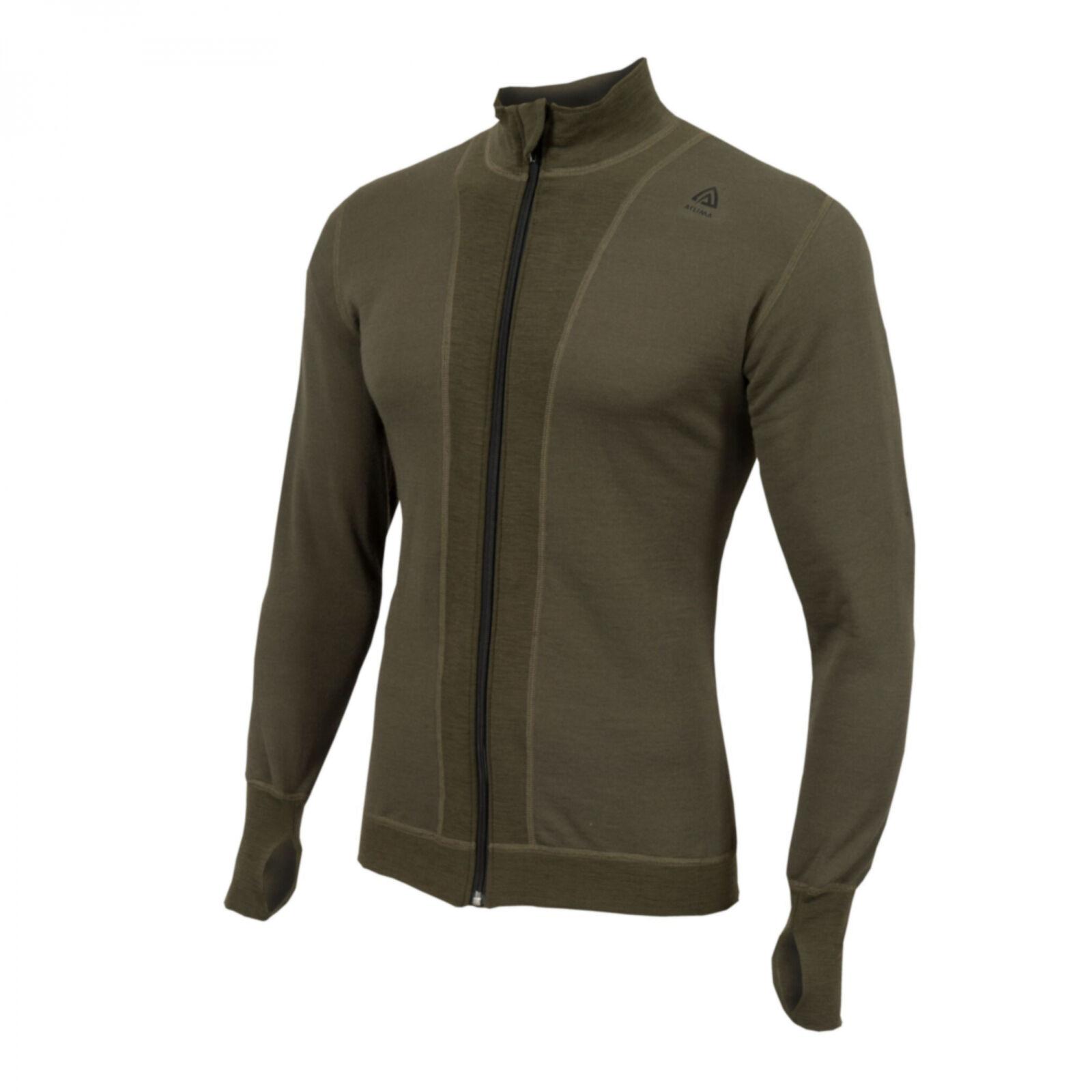Aclima hotwool Jacket light 230g Olive