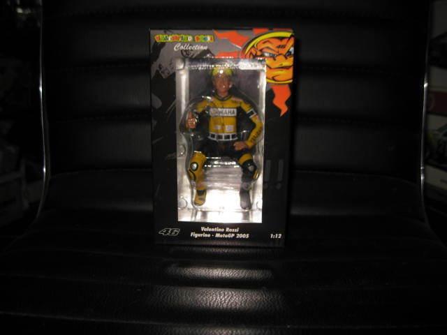 MINICHAMPS 1 12 VALENTINO ROSSI FIGURINE MOTO GP 2005 LAGUNA SECA 46