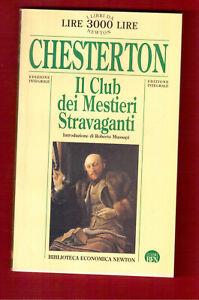 Il Club dei mestieri stravaganti - Chesterton - Newton 1996