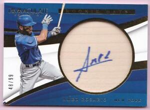 AMED-ROSARIO-RC-2018-IMMACULATE-COLLECTION-ROOKIE-BATS-AUTO-48-99-AUTOGRAPH